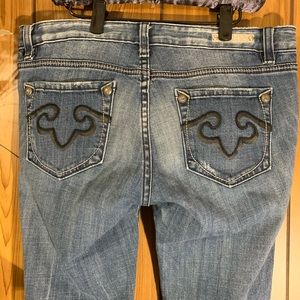 Rerock For Express Jeans Bootcut Size 10 Short